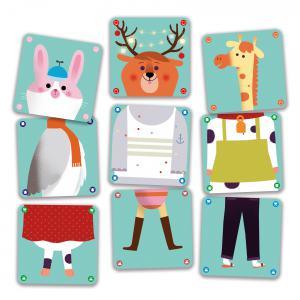 Djeco - DJ05146 - Jeu de cartes Animomix (422990)