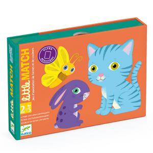 Djeco - DJ05061 - Jeux de cartes des tout-petits - Little Match (422998)