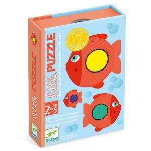 Djeco - DJ05060 - Jeux de cartes des tout-petits - Little Puzzle (423000)