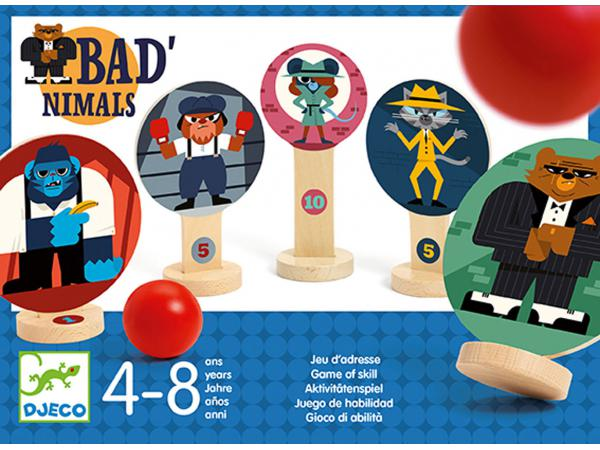 Jeu d'adresse bad'nimals