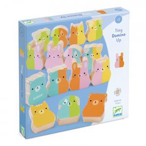 Djeco - DJ01675 - Jeux éducatifs bois - Tiny-up Domino (423030)