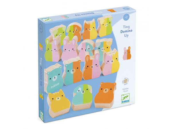 Jeux éducatifs bois - tiny-up domino