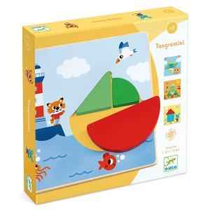 Djeco - DJ01672 - Jeux éducatifs bois - Tangramini (423036)