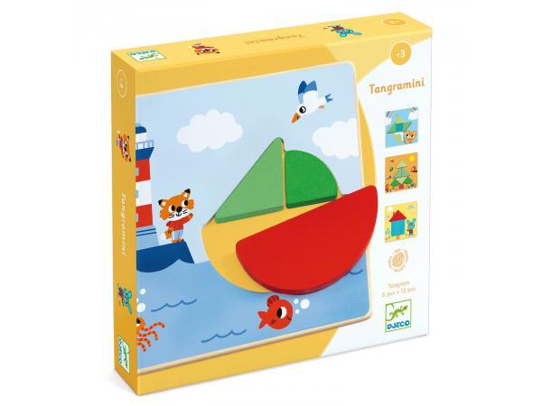 Jeux éducatifs bois - tangramini
