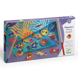 Djeco - DJ01658 - Pêches magnétiques  - Fishing Graphic (423038)