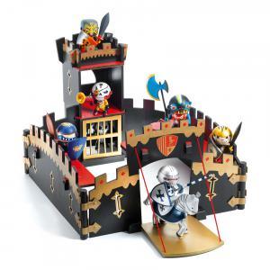 Djeco - DJ06749 - Arty toys - Chevaliers Ze Black Castel (423086)