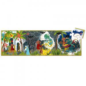 Djeco - DJ07281 - Puzzle silhouettes Aladin - 24 pièces (423158)
