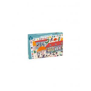 Djeco - DJ07595 - Puzzles observation - L'école des hérissons - 35 pcs (423162)