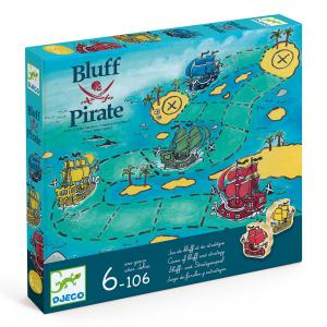 Djeco - DJ08417 - Jeu Bluff Pirate (423178)