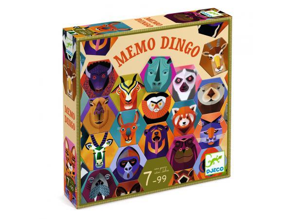 Jeux - memo dingo