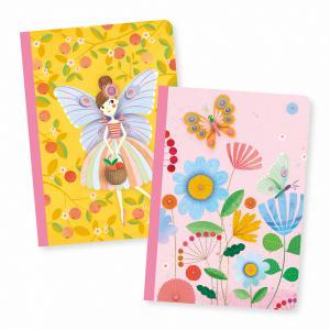 Djeco - DD03591 - Petits carnets - Rose - 2 carnets (423232)