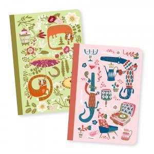 Djeco - DD03595 - Petits carnets - Asa - 2 carnets (423240)