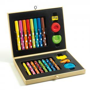 Djeco - DJ09010 - 13 - Boite de couleurs pour les petits (423438)