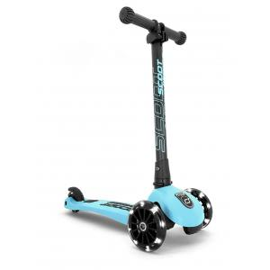 Scoot and Ride - SR-HWK3LCW09 - Trottinette 3 roues Highwaykick 3 Led - Myrtille (423610)