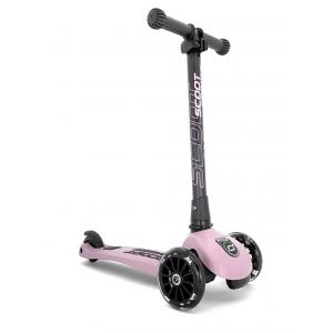 Scoot and Ride - SR-HWK3LCW07 - Trottinette 3 roues Highwaykick 3 Led - Rose (423618)