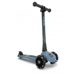 Scoot and Ride - SR-HWK3LCW08 - Trottinette 3 roues Highwaykick 3 Led - Bleu acier (423620)