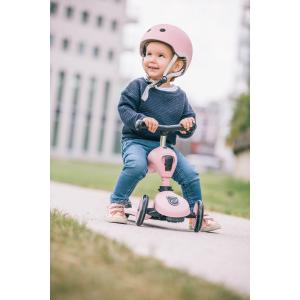 Scoot and Ride - SR-HXXSCW04 - Casque XS - Rose - de 45 à 51 cm en périmètre cranien (423634)