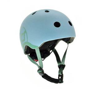 Scoot and Ride - SR-HXXSCW03 - Casque XS - Bleu Acier - de 45 à 51 cm en périmètre cranien (423636)