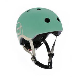 Scoot and Ride - SR-HXXSCW06 - Casque XS - Vert forêt - de 45 à 51 cm en périmètre cranien (423640)