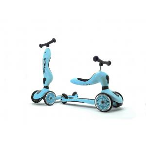Scoot and Ride - SR-HWK1CW09 - Trottinette 2 en 1 Highwaykick 1 - Myrtille (423746)