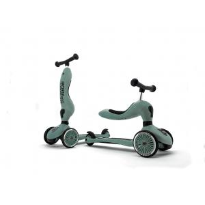 Scoot and Ride - SR-HWK1CW06 - Trottinette 2 en 1 Highwaykick 1 - - VERT FOREST (423760)