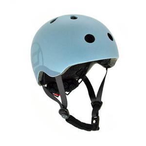 Scoot and Ride - SR-HSCW08 - Casque S - Bleu Acier - de 50 à 55 cm en périmètre cranien (423764)