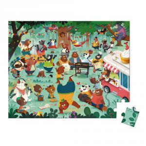 Janod - J02668 - Puzzle la cousinade des ours - 54 pcs (424102)