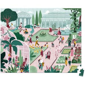 Janod - J02684 - Puzzle jardin botanique- 200 pcs (424110)
