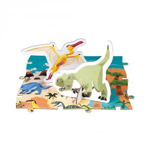Janod - J02679 - Puzzle educatif- les dinosaures - 200 pcs (424124)
