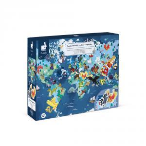 Janod - J02680 - Puzzle educatif - mythes & legendes - 350 pcs (424126)
