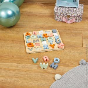 Janod - J04412 - Puzzle alphabet sweet cocoon (424164)