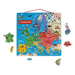 Janod - J05476 - Carte d'europe magnetique (424280)