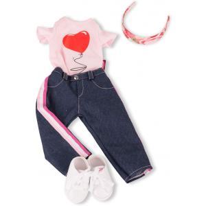 Gotz - 3403154 - Ensemble Jeans in style pour poupées de 45-50cm (426168)