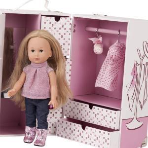 Gotz - 3403038 - la valise de vêtements avec Poupée Just Like me pour poupées de 27 cm (426300)