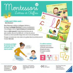 Ravensburger - 20805 - Montessori - Lettres et chiffres (426374)