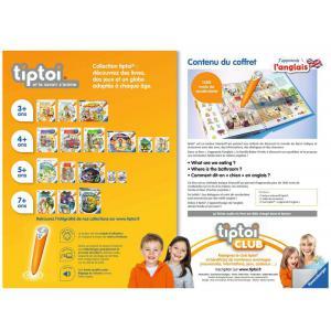Ravensburger - 00057 - tiptoi® - Coffret complet lecteur interactif + Livre J'apprends l'anglais (426384)