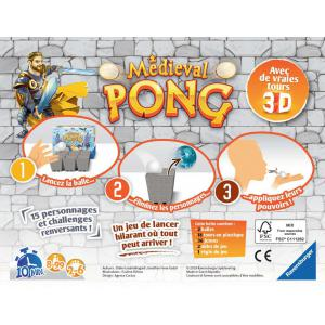 Ravensburger - 26006 - Medieval pong (426408)