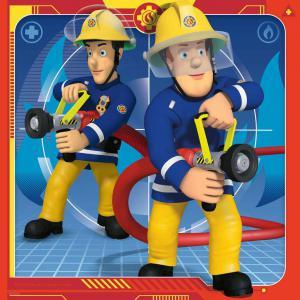 Ravensburger - 05077 - Puzzles 3x49 pièces - Notre héros Sam le pompier (426424)