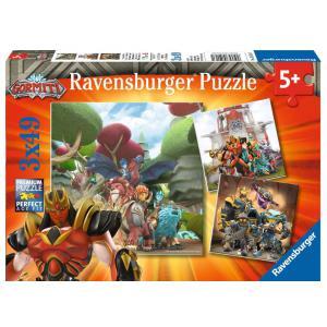Ravensburger - 05016 - Puzzles 3x49 pièces - Le Bien contre le Mal / Gormiti (426432)
