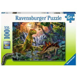 Ravensburger - 12888 - Puzzle 100 pièces XXL - L'oasis des dinosaures (426434)