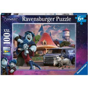 Ravensburger - 12928 - Puzzle 100 pièces XXL - Frères / En avant (426436)