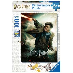 Ravensburger - 12869 - Puzzle 100 pièces XXL - Le monde fantastique d'Harry Potter (426438)
