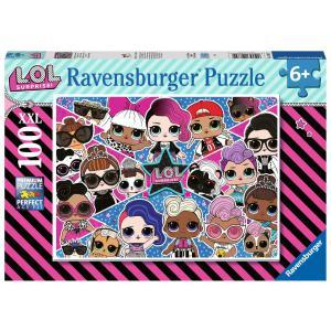 Ravensburger - 12882 - Puzzle 100 pièces XXL - Amies pour la vie ! / LOL Suprise (426444)