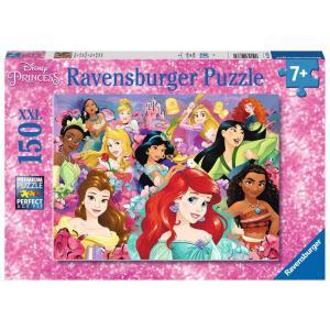 Disney - 12873 - Puzzle 150 pièces XXL - Les rêves peuvent devenir réalité / Disney Princesses (426446)