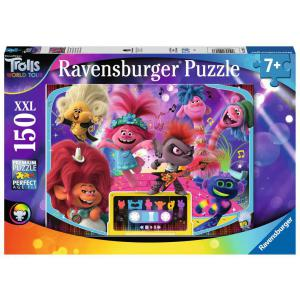 Ravensburger - 12913 - Puzzle 150 pièces XXL - Plus forts ensemble ! / Trolls 2 (426452)
