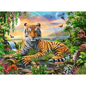 Ravensburger - 12896 - Puzzle 300 pièces XXL - Le roi de la jungle (426474)