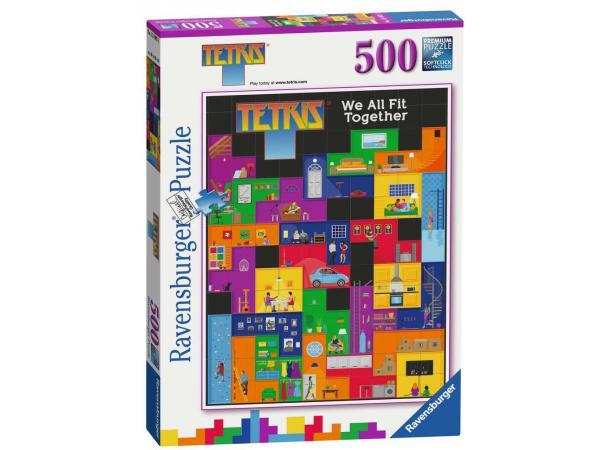 Puzzle 500 pièces - tetris