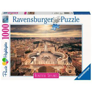 Ravensburger - 14082 - Puzzle 1000 pièces - Rome (Puzzle Highlights) (426494)