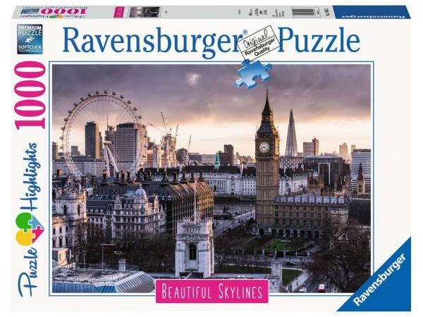 Puzzle 1000 pièces - londres (puzzle highlights)