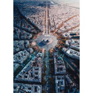 Ravensburger - 15990 - Puzzle 1000 pièces - Paris vue d'en haut (426506)